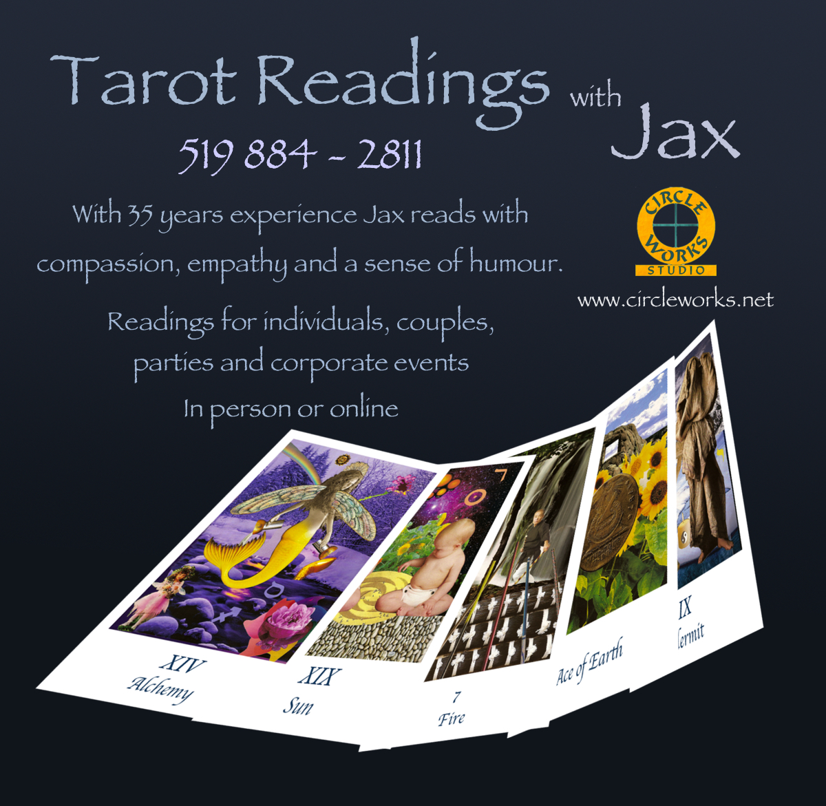 Zoom Tarot Reading